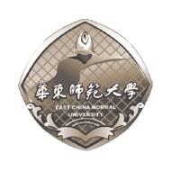 Логотип Восточно-Китайского Педагогического Университета