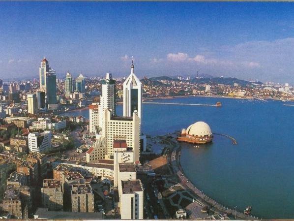 На фото: город Циндао