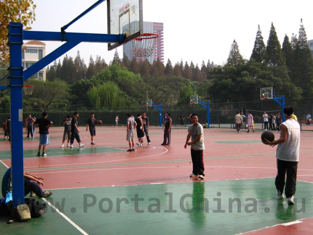 Спортивная площадка East-China Normal University