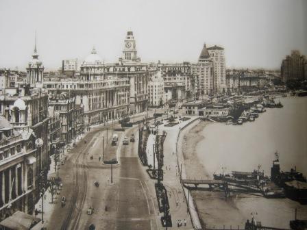 Набережная Бунд в 19 веке, Шанхай