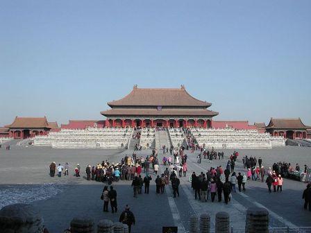 На фото: Запретный Город – одна из главных достопримечательностей Пекина