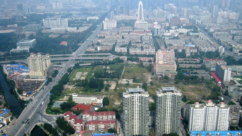 На фото: Тяньцзинь, вид на город с телебашни Тианта