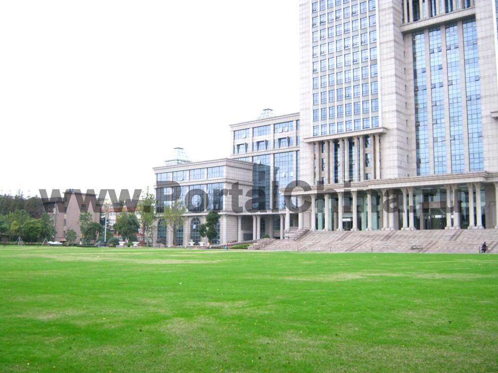 Корпуса Университета Фудань - одного из лучших китайских университетов