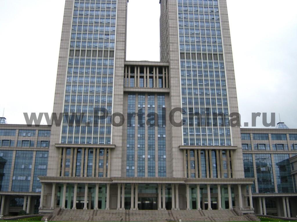 Башни главного корпуса Университета Фудань