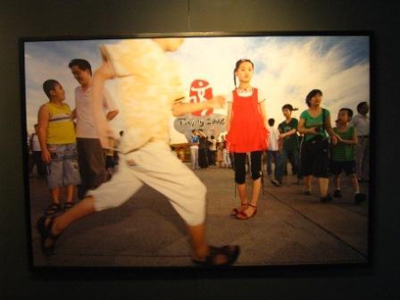 Выставка картин в Шанхае