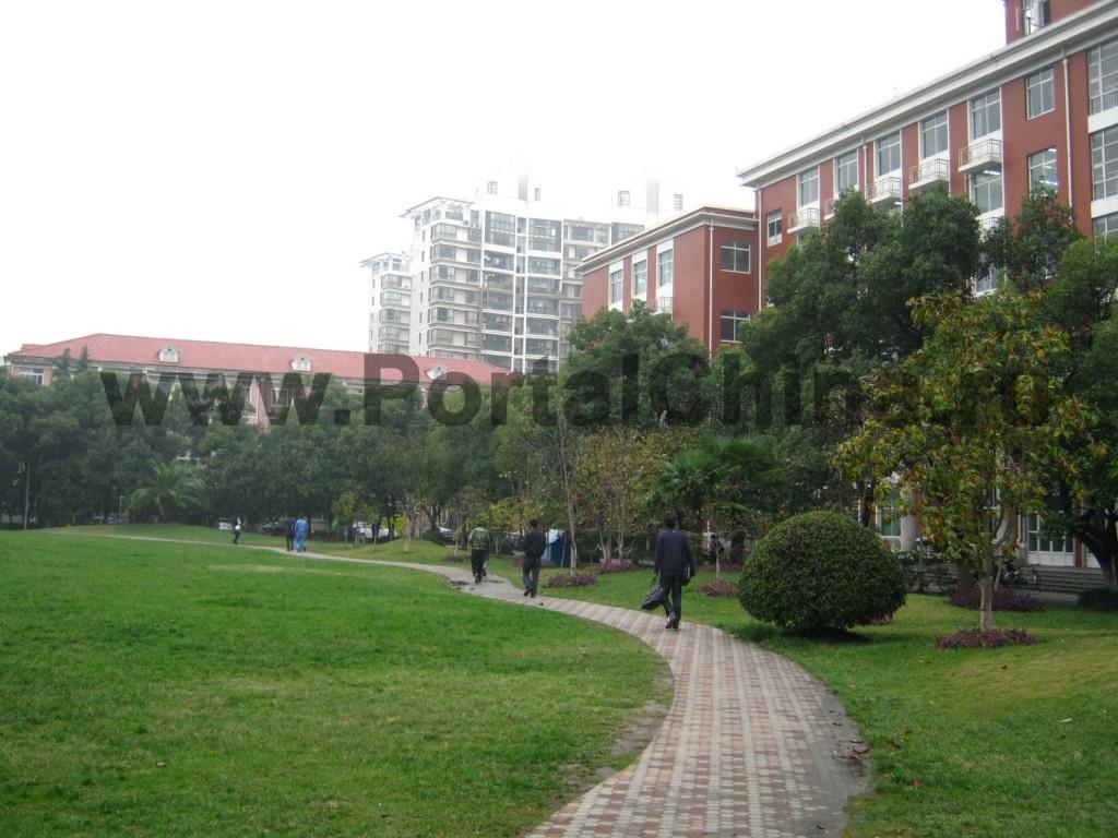 Корпуса Шанхайского Университета (The Shanghai University)