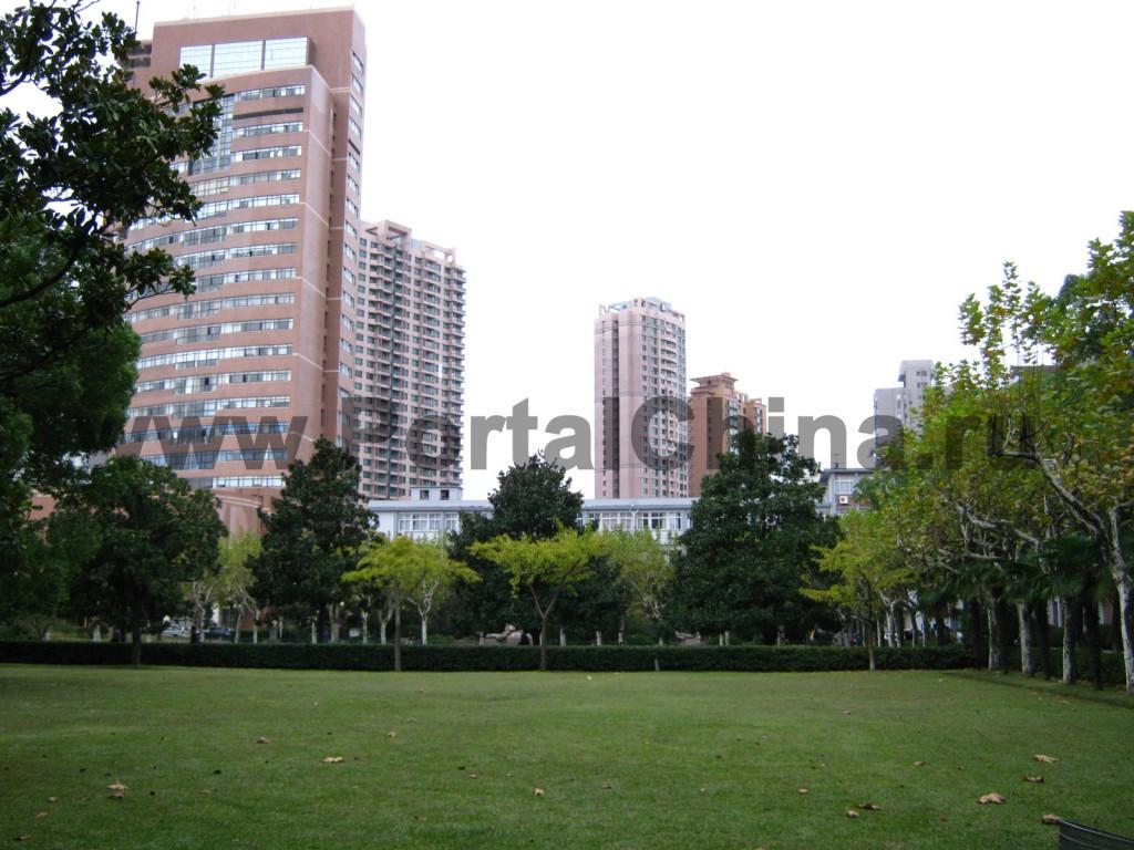 Территория Шанхайского Транспортного (Цзяотун) Университета