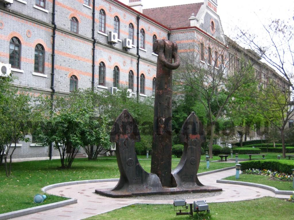 Учебные корпуса и общежития на территории Шанхайского Транспортного (Цзяотун) Университета