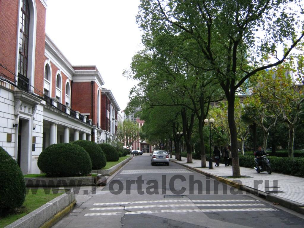 Корпуса Шанхайского Транспортного (Цзяотун) Университета