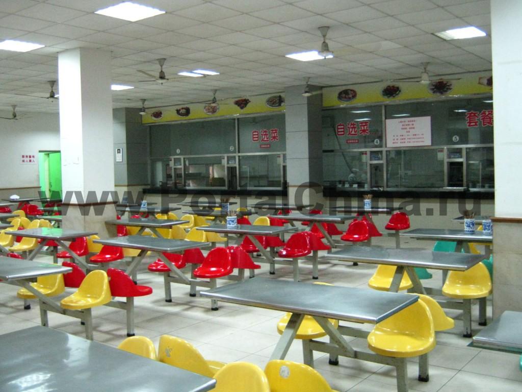 Столовые в Шанхайском Университете