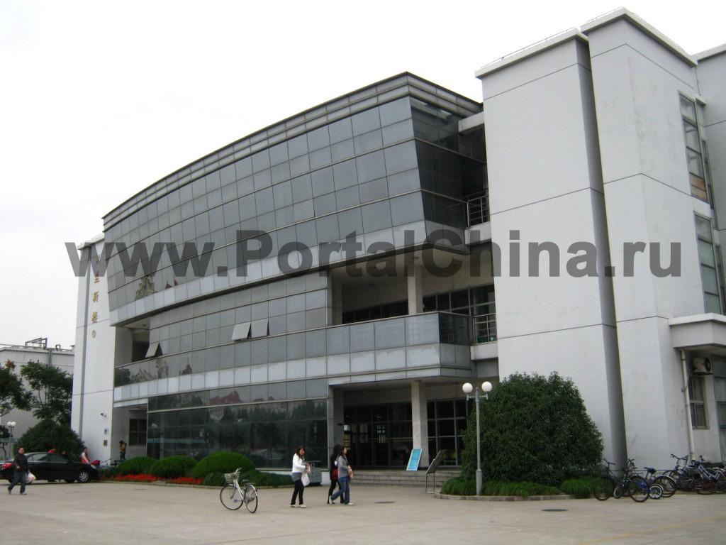 Здания Шанхайского Университета