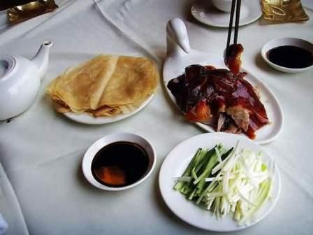 На фото: Beijing duck