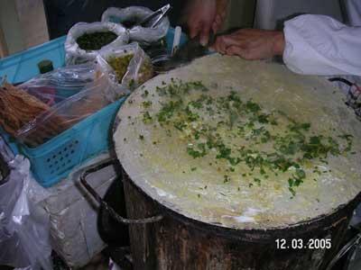 На фото: блинчики jianbinguozi
