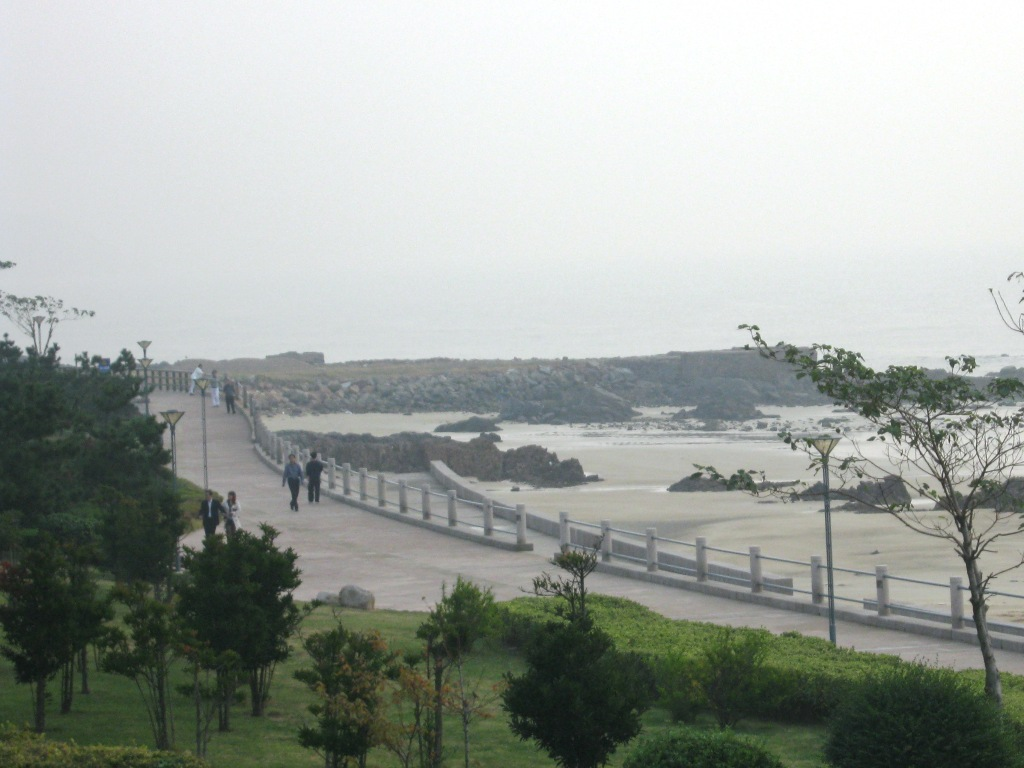 Qingdao sea walk