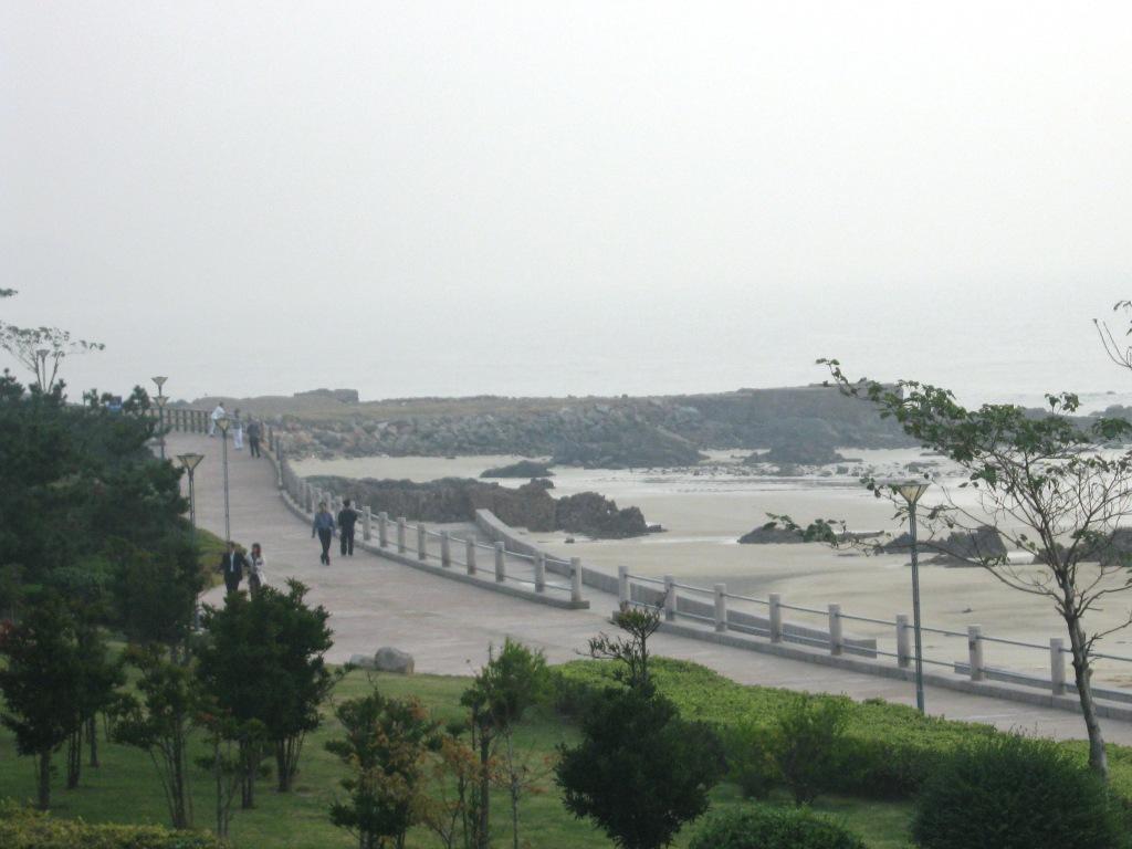 Qingdao sea walk