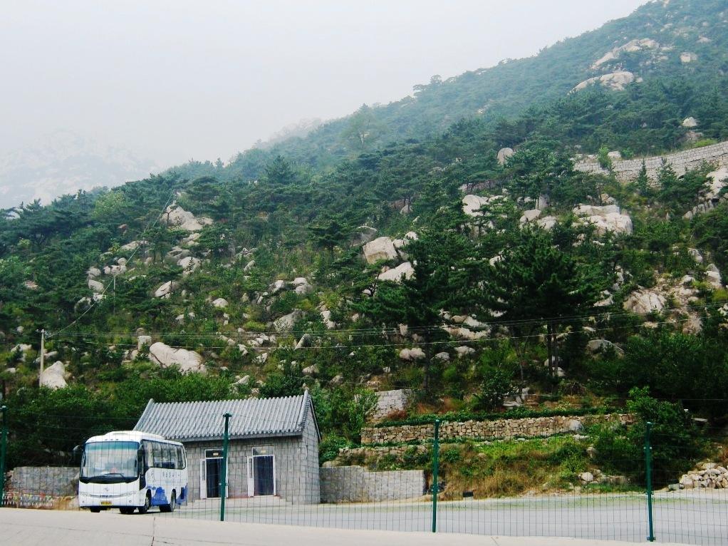 near Laoshan Mountains